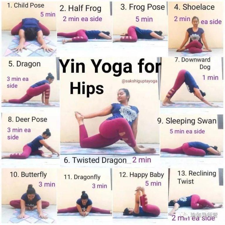 10 套阴瑜伽序列,开肩开髋又缓解疼痛!
